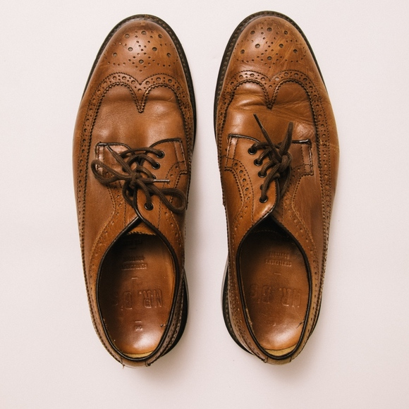 1ab9cb19f5 Aldo Other - Mr. B's for Aldo Brown Brogue Dress Shoes